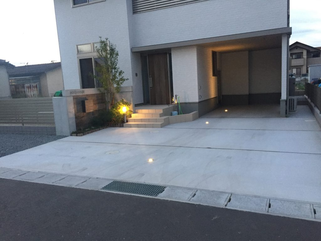 福島市W様邸新築外構工事 | E-planning(イープランニング)